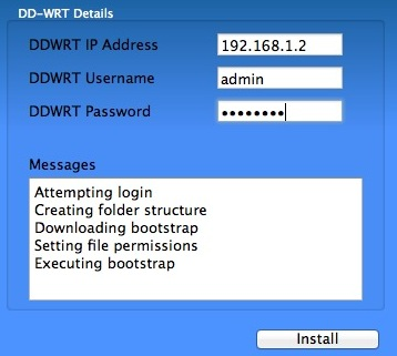 OverPlay DD-WRT Installer