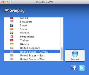 Overplay Mac Server List