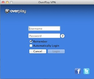 Overplay Mac Logon Screen